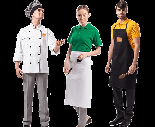 kitchen workwear uniforms suppliers dubai sharjah abu dhabi ajman uae