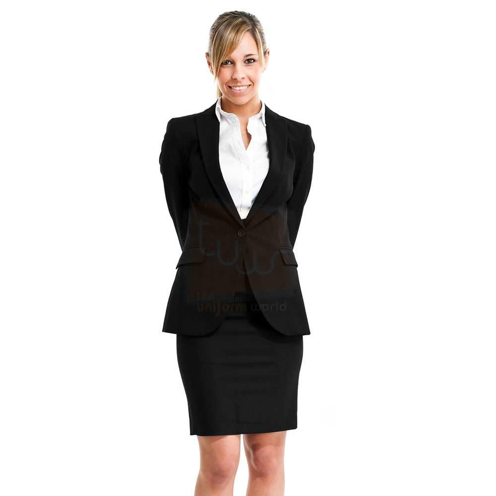 receptionist formal coat uniforms tailor supplier dubai abu dhabi ajman sharjah uae