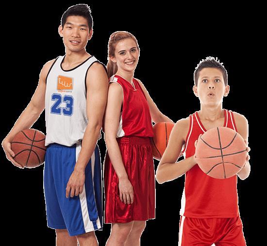 male female basketball
