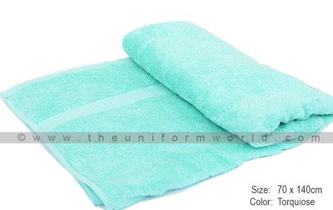 bath towels logo embroidery
