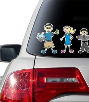 custom car decals suppliers shops dubai sharjah abu dhabi uae