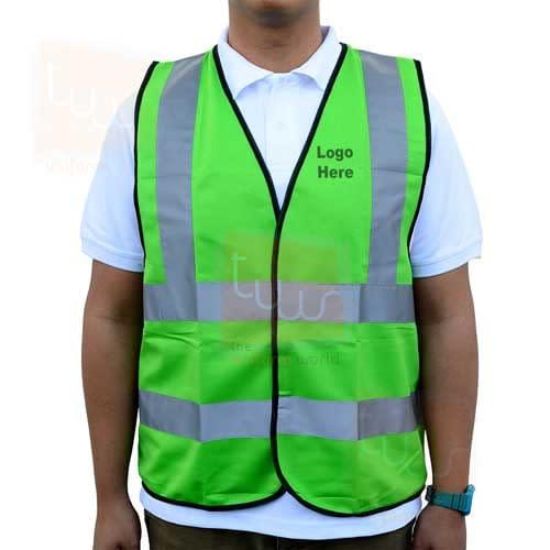 logo printing on safety vest jacket deira karama dubai ajman abu dhabi sharjah uae