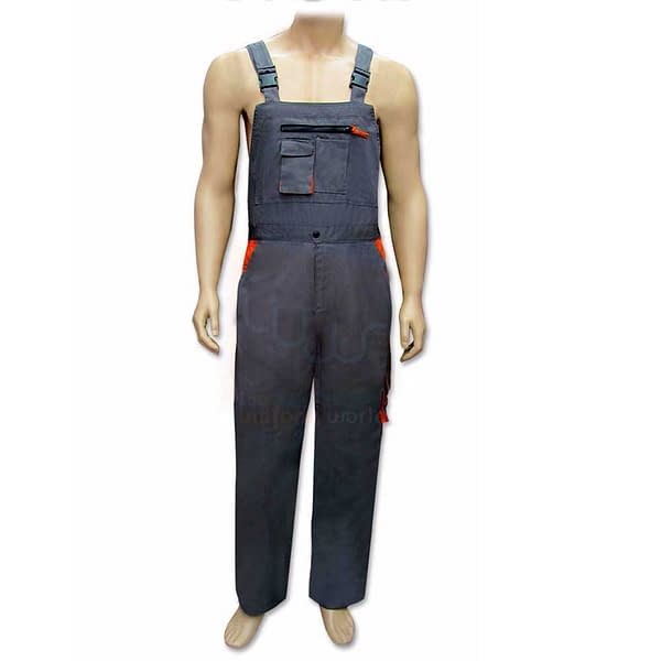 grey bib coverall suit suppliers