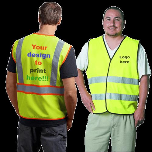 safety jacket vest printing shop dubai ajman sharjah abu dhabi uae